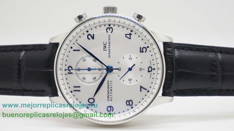 65df3cab4647 Replica De Relojes IWC Portuguese Working Chronograph ICH22. Loading zoom