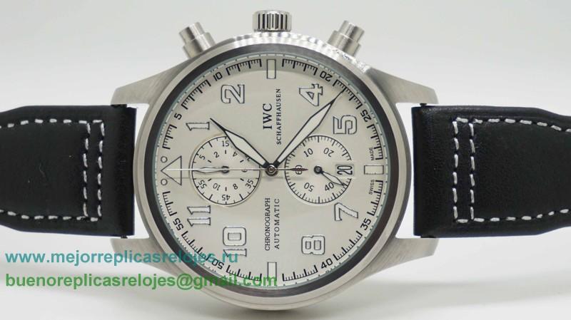 becd22e83a47 Replica De Relojes IWC Pilot Working Chronograph ICH125. Loading zoom
