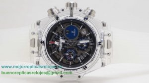 Replicas Relojes Hublot Big Bang Unico Working Chronograph HTH143