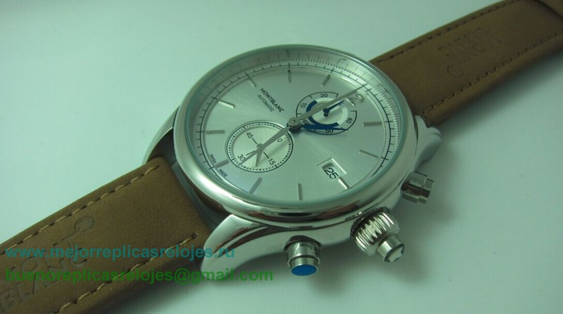 Replica De Reloj Montblanc Working Chronograph MCH65