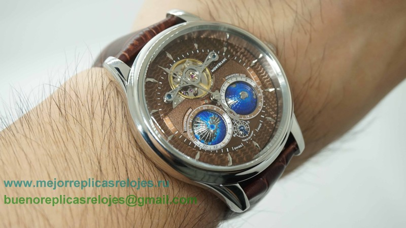 Replica De Reloj Montblanc Tourbillon Cylindrique NightSky Geosphères Limited Edition MCH72
