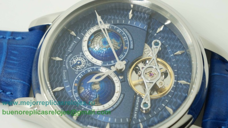 Replica De Reloj Montblanc Tourbillon Cylindrique NightSky Geosphères Limited Edition MCH73